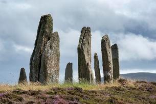 Ring of Brodgar, circa 2500 BC, Neolithic Stone Circleの写真素材 [FYI02707415]