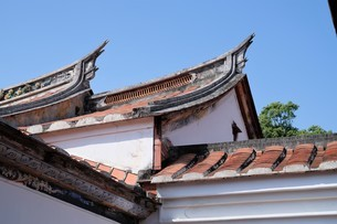 Lin An Tai Historical House and Museum;Taipeiの写真素材 [FYI02707446]