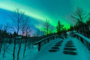 Aurora in Finlandの写真素材 [FYI02707501]
