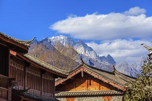 Shuhe Ancient Town, Lijiang, Yunnan,Chinaの写真素材 [FYI02707512]