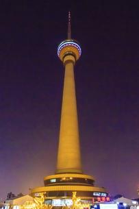 CCTV Tower,Beijing, Chinaの写真素材 [FYI02707545]