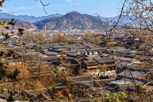 Shuhe Ancient Town, Lijiang, Yunnan,Chinaの写真素材 [FYI02707608]