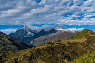Overlooking of Mount Siguniangの写真素材 [FYI02707633]
