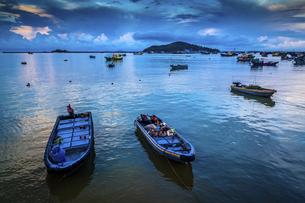 Dongping fishing port,Yangjiang, Guangdong, Chinaの写真素材 [FYI02707720]