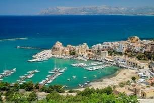 Castellammare del Golfo, Golfo di Castellammare, Provinceの写真素材 [FYI02708505]