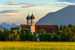 Basilica of St Benedict, Benedictine monasteryの写真素材 [FYI02708524]