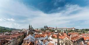 Historic centre of Prague, UNESCO World Heritage Siteの写真素材 [FYI02708595]