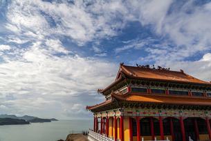 Feilong Temple in Dongping Fishing Port,Yangjiang, Guangdong, Chinaの写真素材 [FYI02708688]