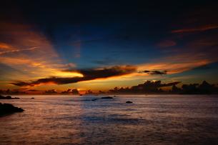 Twin Lion Beach; Toucheng; Yilan; Taiwanの写真素材 [FYI02708710]
