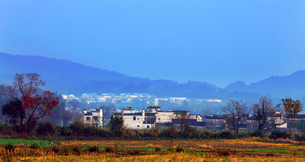 Hong village in Anhui province,Chinaの写真素材 [FYI02708868]