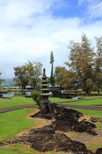 ハワイ島ヒロのリリウオカラニ公園の写真素材 [FYI02708919]