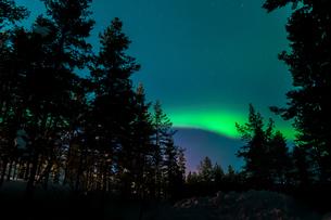 Aurora in Finlandの写真素材 [FYI02708921]