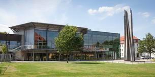 OsnabruckHalle, former municipal hall, Osnabruck, Lowerの写真素材 [FYI02708980]
