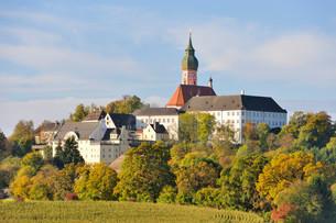 Kloster Andechs, Benedictine Monastery, Andechs, Upperの写真素材 [FYI02708984]