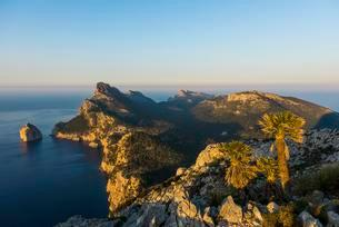 Evening mood, Cap Formentor, Port de Pollenca, Serra deの写真素材 [FYI02709001]