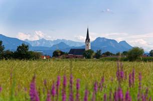 Pfaffenhofen am Inn, Rosenheimer Land, Upper Bavariaの写真素材 [FYI02709014]