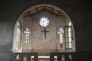 Shierliao Catholic Church in Hsinchu Taiwanの写真素材 [FYI02709051]