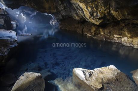 Paradise in Grjotagja,Icelandの写真素材 [FYI02709064]