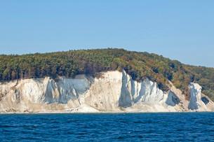 Chalk cliffs, Jasmund National Park, Rugenの写真素材 [FYI02709147]