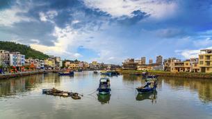 Dongping fishing port,Yangjiang, Guangdong, Chinaの写真素材 [FYI02709266]