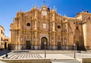 Cathedral Catedral de la Encarnacion de Guadix, Guadixの写真素材 [FYI02709454]