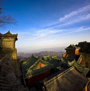 Wudang mountains;Hubei Province;Chinaの写真素材 [FYI02709468]