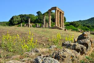 Temple of Antas, Carthaginian-Roman temple, nearの写真素材 [FYI02709480]