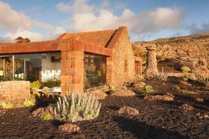 Mirador de la Pena with view restaurant designed byの写真素材 [FYI02709510]