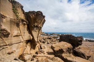Kenting coast in Taiwan, Chinaの写真素材 [FYI02710011]