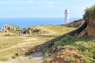 Lighthouse by the seaの写真素材 [FYI02710193]
