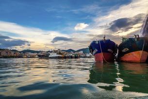 Dongping fishing port,Yangjiang, Guangdong, Chinaの写真素材 [FYI02710230]