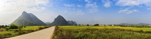 Enclosure of Pastoral Beauty,Guangdong, Chinaの写真素材 [FYI02710282]
