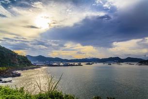 Dongping fishing port,Yangjiang, Guangdong, Chinaの写真素材 [FYI02710361]