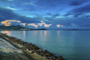 Dongping Fishing Port , Guangdong,Chinaの写真素材 [FYI02710365]