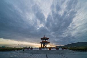 Dongji square in Fuyuan; Heilongjiang; Chinaの写真素材 [FYI02710454]