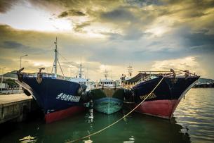 Dongping fishing port,Yangjiang, Guangdong, Chinaの写真素材 [FYI02710541]