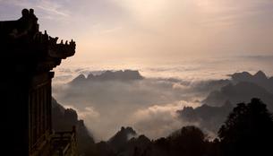 Wudang mountains;Hubei Province;Chinaの写真素材 [FYI02710552]