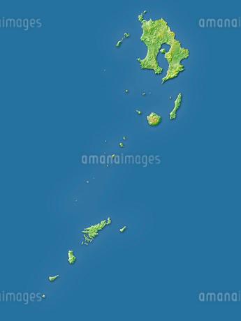鹿児島県全島地図のイラスト素材 [FYI02717496]