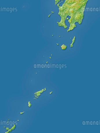 鹿児島県全島地図のイラスト素材 [FYI02717503]