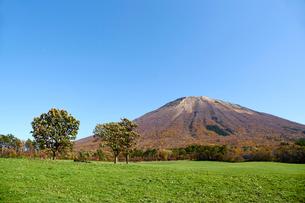 桝水高原より望む大山の写真素材 [FYI02718149]