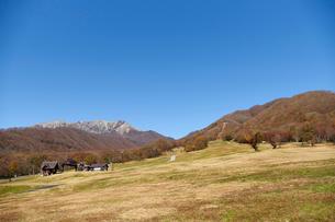 奥大山スキー場より望む大山の写真素材 [FYI02718381]