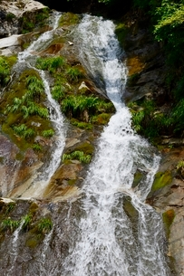 史跡,生野銀山,不動滝の写真素材 [FYI02718785]