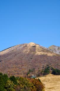 桝水原より望む大山の写真素材 [FYI02719119]