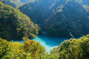 宇奈月湖の写真素材 [FYI02719179]