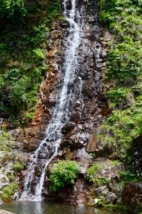 史跡,生野銀山,不動滝の写真素材 [FYI02719576]