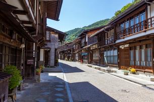 奈良井宿の写真素材 [FYI02720408]