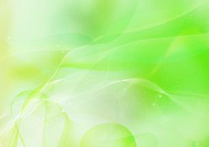 幻想的な黄緑の光の流れのイラスト素材 [FYI02720824]