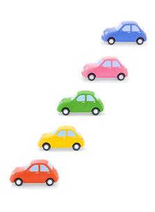 5台の車の写真素材 [FYI02721830]