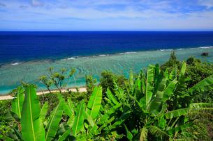 奄美大島 大浜海浜公園より望む東シナ海の写真素材 [FYI02722623]