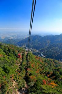 三重県 御在所岳の紅葉の写真素材 [FYI02722767]
